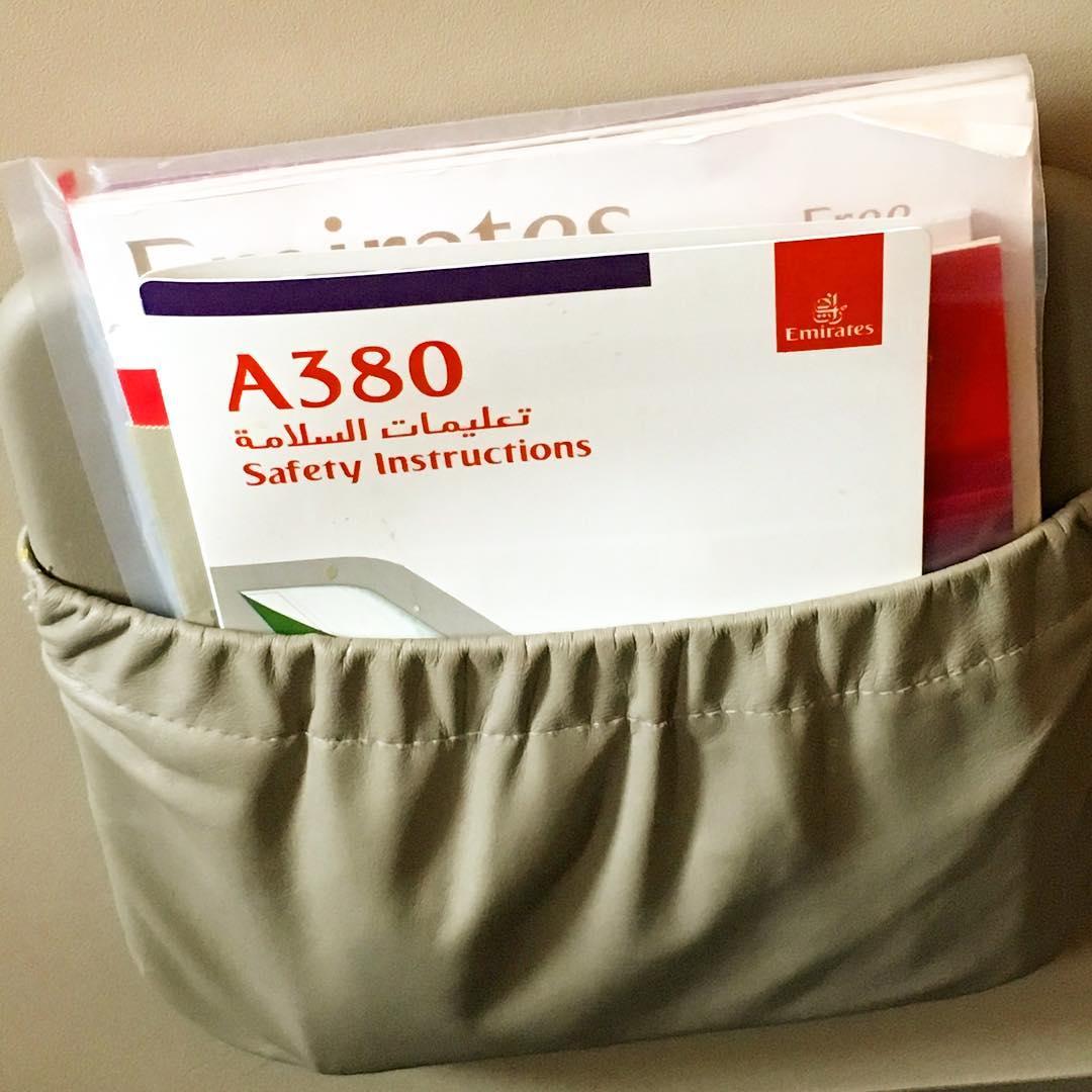 Dans l'A380 direction ️