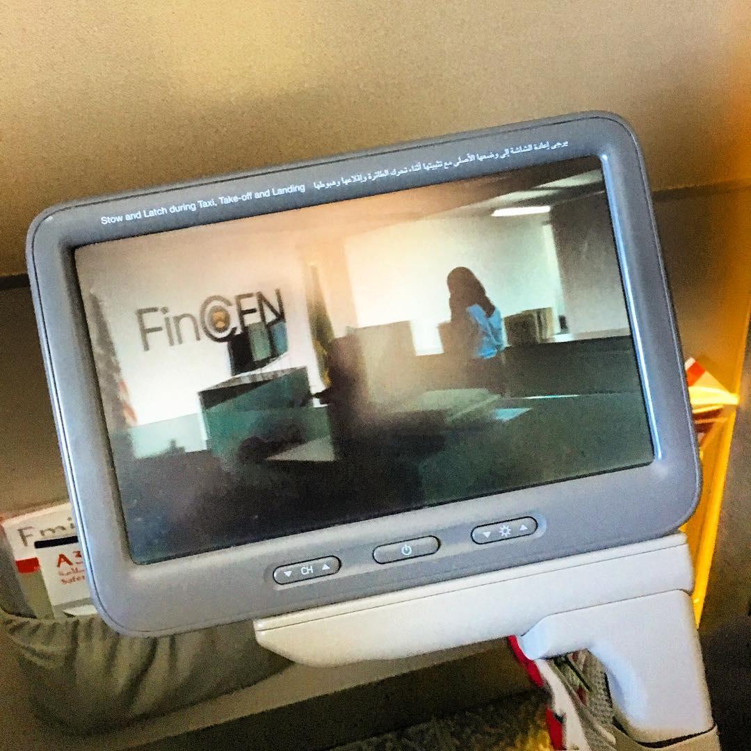 :  Dans l'avion pour ️ ️