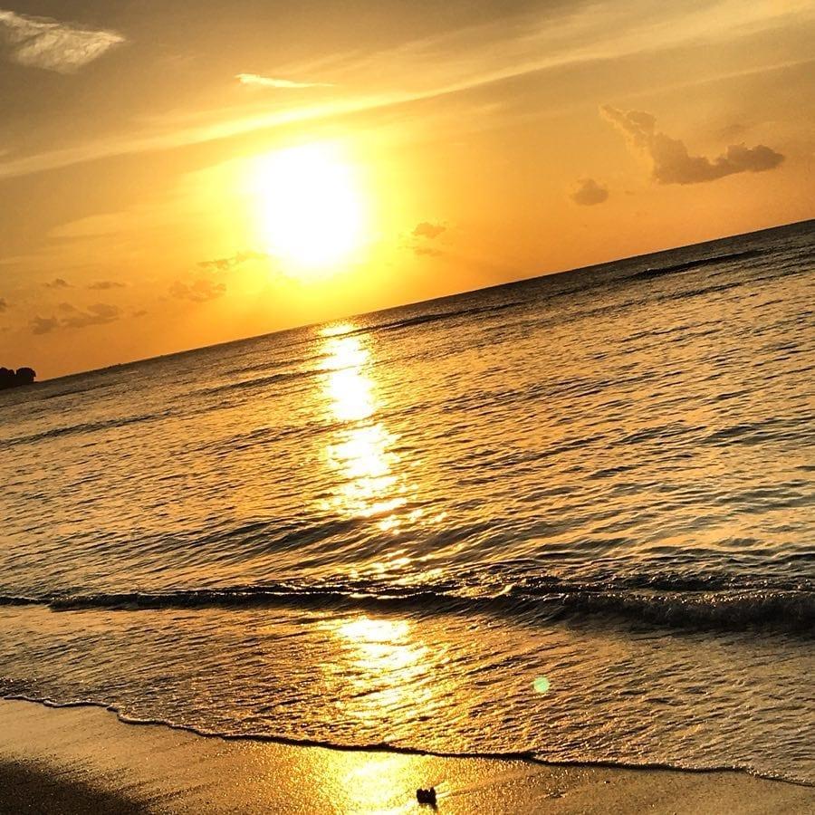 Juste un peu de chaleur et de couchers de soleil ️ ️