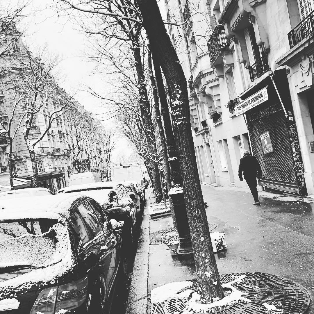 Hier sous la neige à  🌞 ️