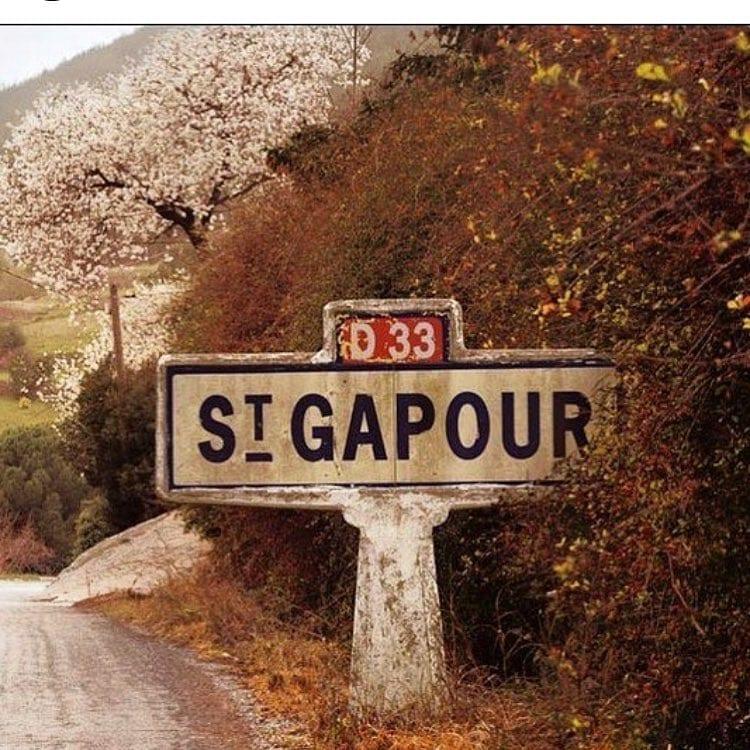 Direction Saint Gapour  J-2 ️️ - Repost @mimi_la_girafe