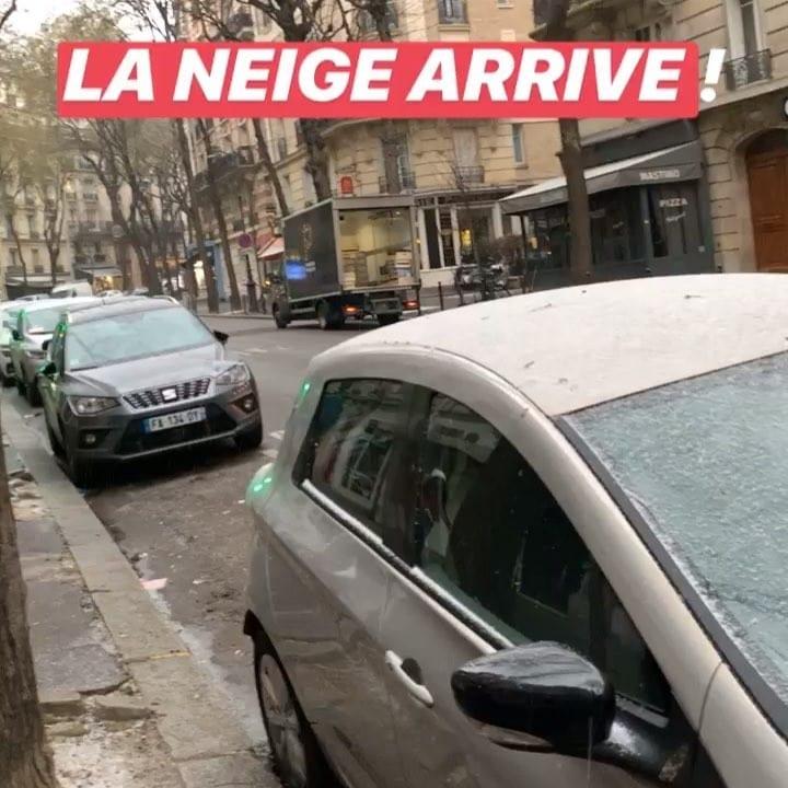 La neige arrive et est déjà répartie !  🌞 ️ @mairie18