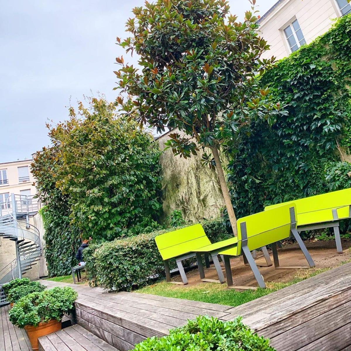 Jardin sur les toits de ? ️